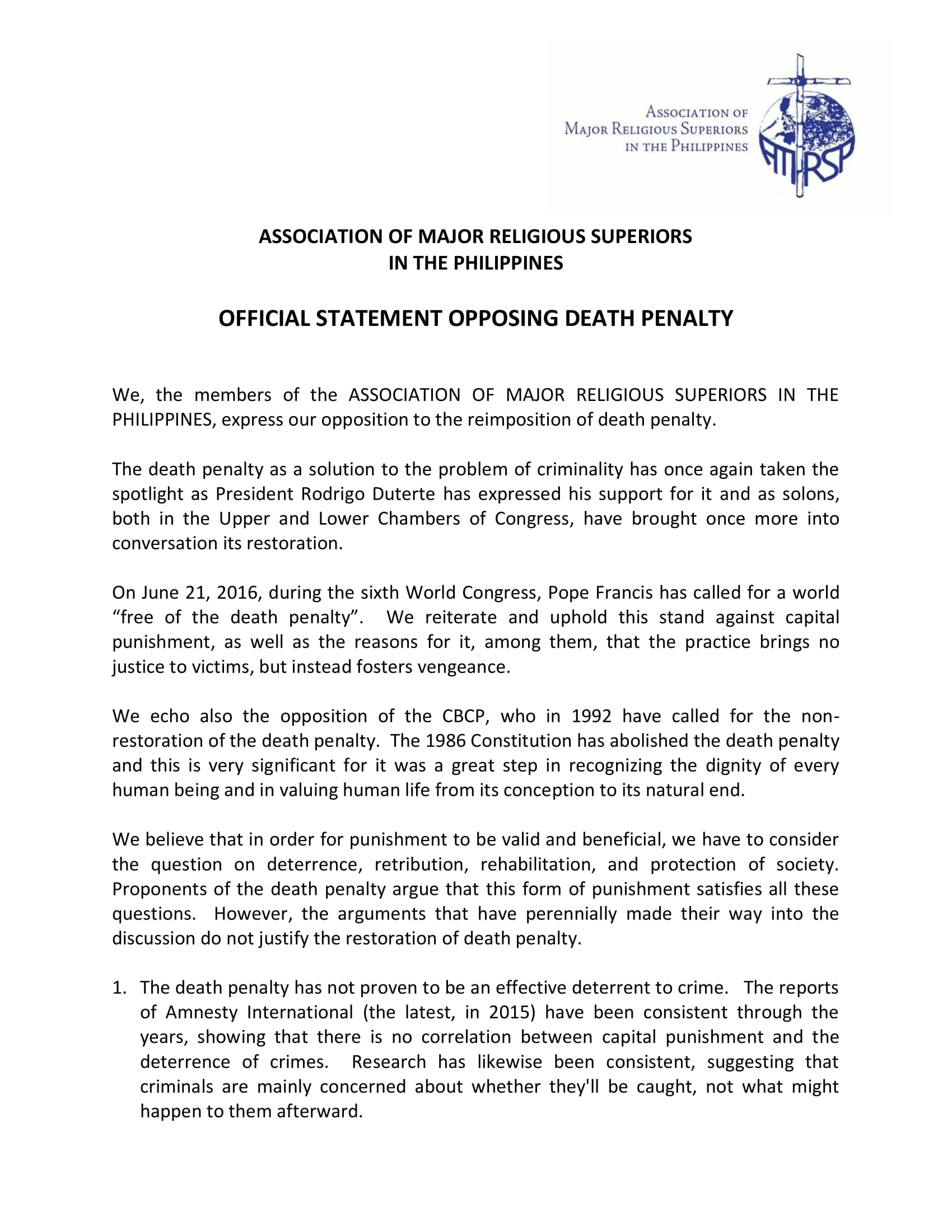 is the death penalty justified essay
