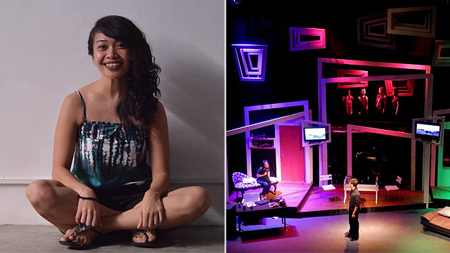 "Thomasian alumna Ina Abuan's ""Sa Wakas"" returns to the stage after its first run at the Peta Theater Center in 2013."